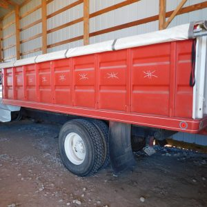 Lot 30: 1980 Chevy Truck, 2.5 Ton rear view