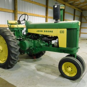Lot 44: 1959 JD 630 Tractor Another View