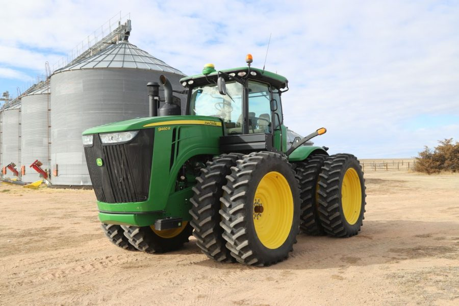 Equipment Auction on 2/25/18 - 2013 JD 9460R Tractor front view