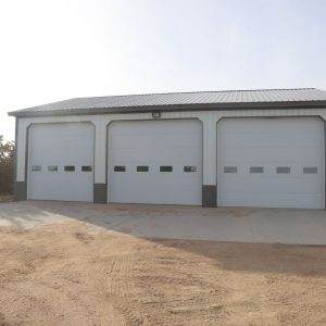 Parcel 6 feed equipment shed