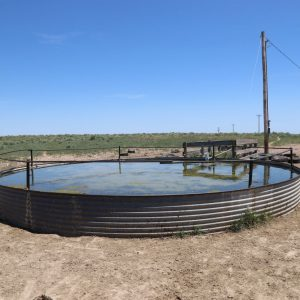 Submersible well and tank