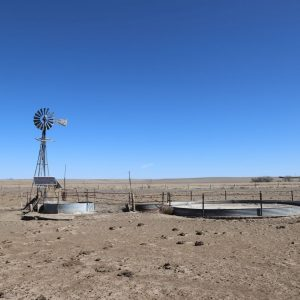 L-W well with solar pump