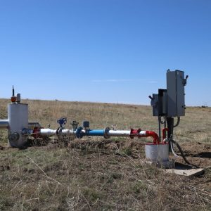 Irrigation well - East