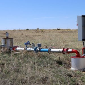 Irrigation well - middle