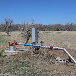 Irrigation well - west