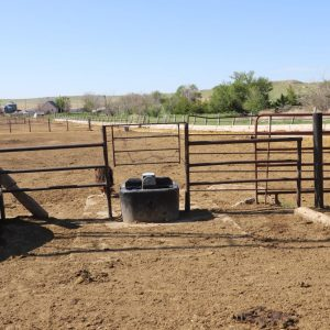 Waterer at corrals