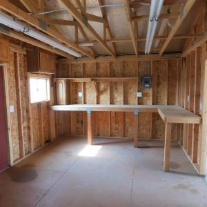 Parcel #10 - Interior of Tuff shed