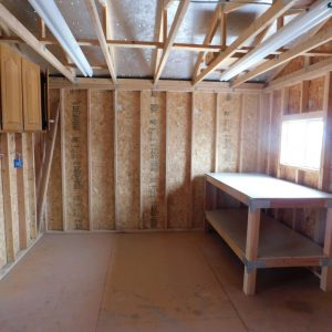 Parcel #10 - Another view of interior of Tuff shed