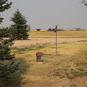 Parcel #10 - View of domestic well