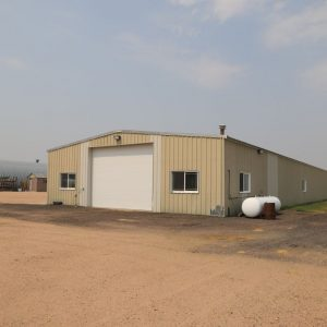 Parcel #9 - Another view of 50' x 200' machine shop
