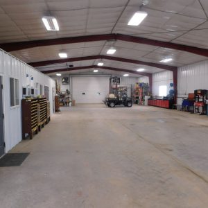 Parcel #9 - South end of the 50' x 200' shop (insulated & heated)