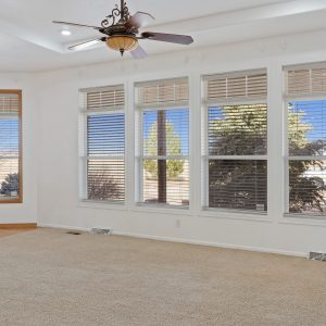 Living Room - lots of natural light