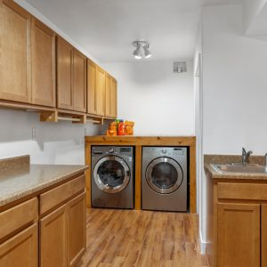 Downstairs laundry/utility