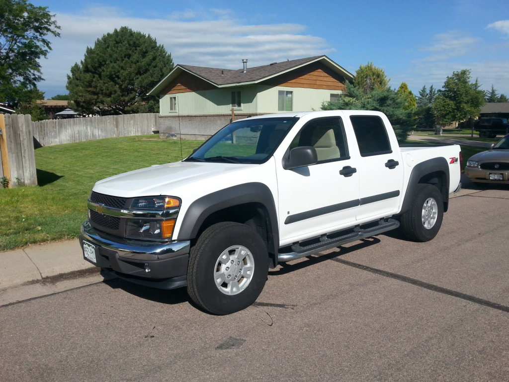 2007 Chevy Crew Cab truck, auction, reck