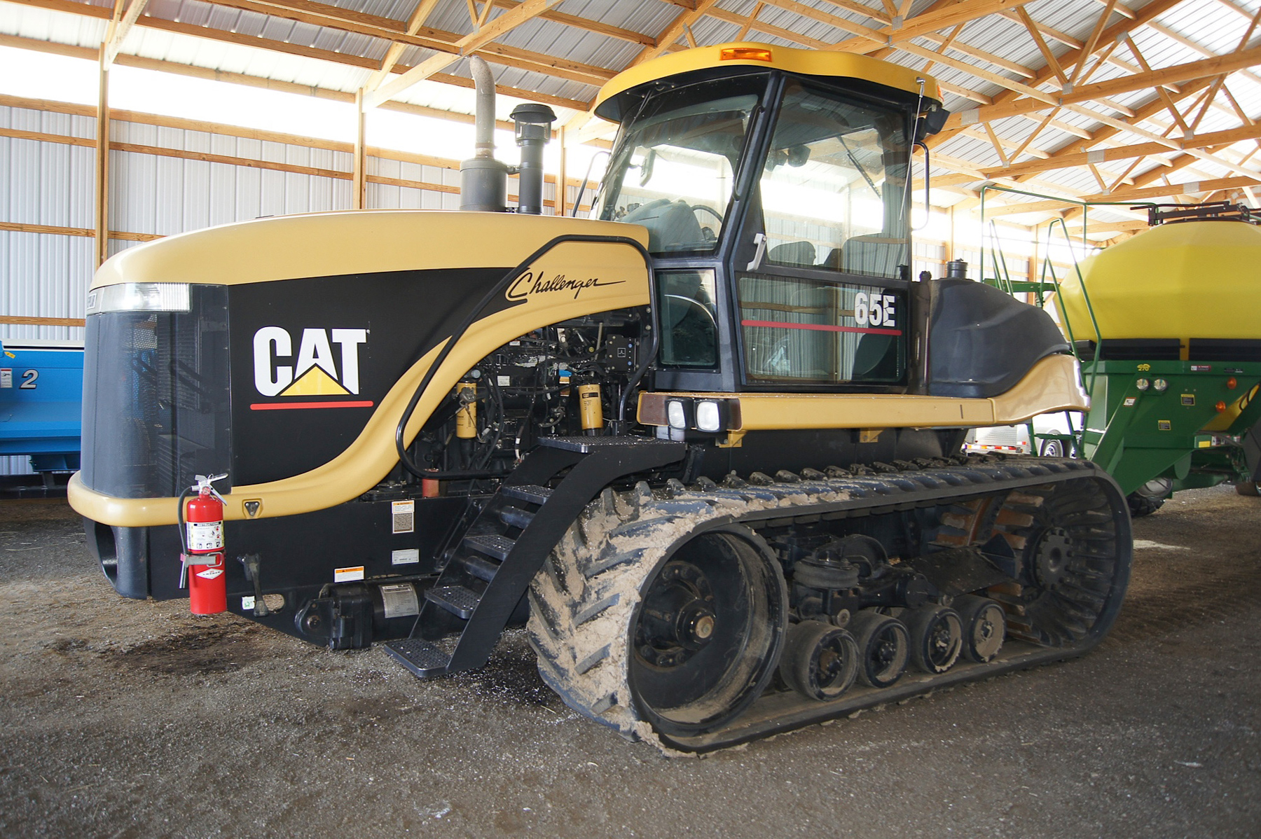 2002 CAT 65E, reck agri, equipment auction, farm equipment, sale, auction, equip