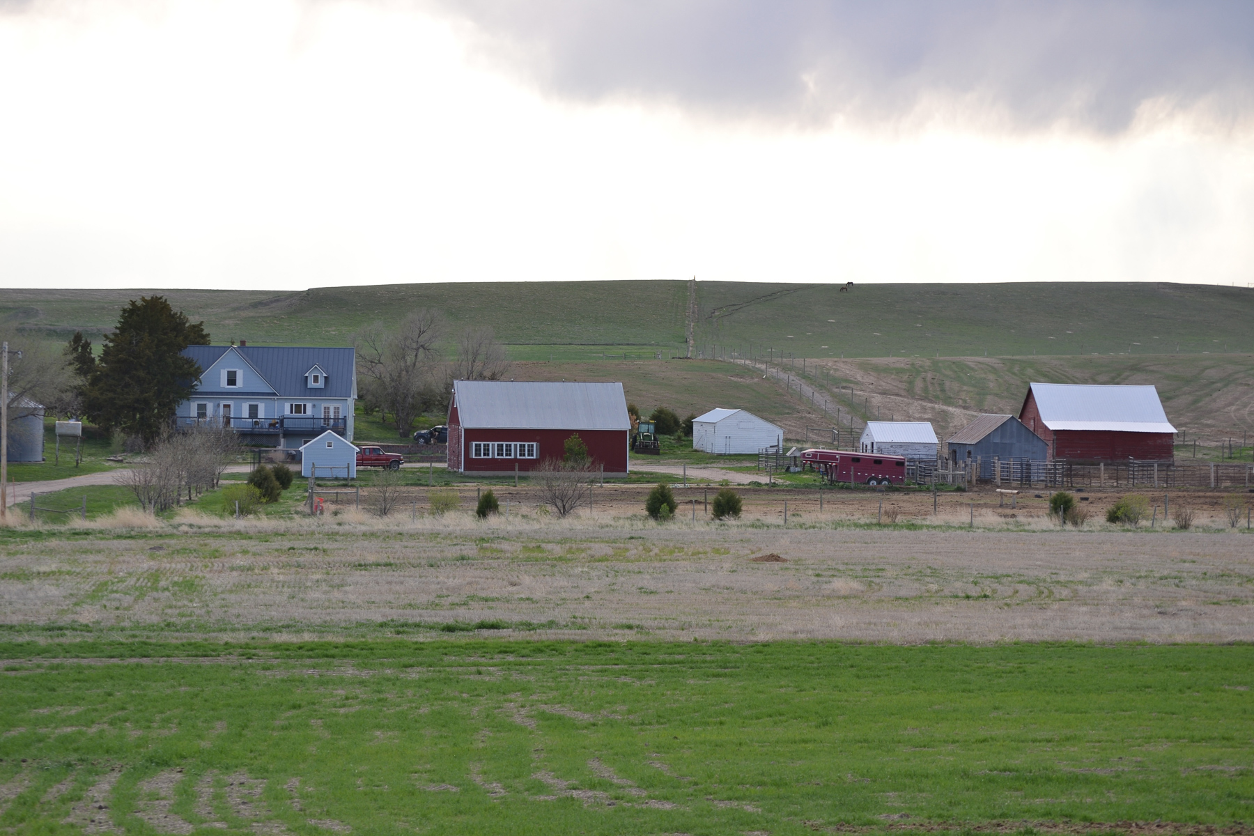 Nebraska Land for sale with home and outbuildings