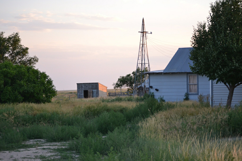 Kimall county Nebraska acreage with home
